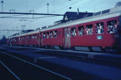 Bahnfest 1967, ,Bäretswil isch im Zug'