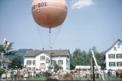 Oberlandfest, Ballonstart