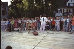 Diräkt us Bäretswil, Schülerchor (nicht in der Sendung)