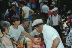 100 Jahre Guyer-Zeller Wege 1992, Feier auf der Hohenegg, Musik Bauma