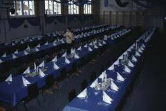Milleniumsfest Gedeck für das Gala-Dinner