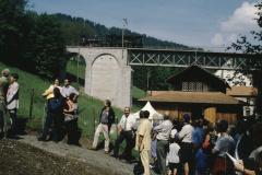 Brückeneinweihung mit Ed3-3 + Glettiseli