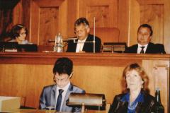 Wahl Gerhard Fischer zum Kantonsratspräsident, im Ratshaussaal
