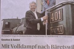 Gerhard Fischer wird Kantonsratspräsident