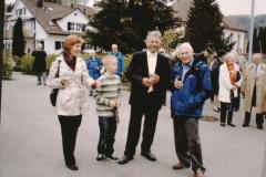 Wahl Gerhard Fischer zum Kantonsratspräsident, Empfang in Bäretswil, G.+L.Fischer + Jörg Albrecht