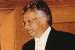 Wahl Gerhard Fischer zum Kantonsratspräsident, im Rathaus Sitzungssaal