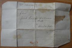 Arztrechnung für Jakob Hürlimann, 1847, Anschrift