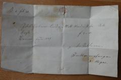 Arztrechnung für Jakob Hürlimann, 1847, Inhalt
