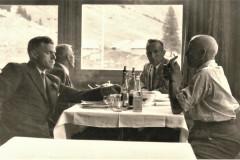 Gemeinderatsreise Säntis 1956, Gemeindepräsident Reinhold Walder