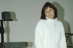 Seminar Oberstufe Wildhaus, Sabine Hofmann referiert
