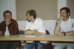 Seminar Oberstufe Wildhaus, Heinz Mäusli, Gregor Grubenmann, Ernst Keller