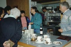 Seminar Oberstufe Wildhaus, Am Abend Selbstbedienung