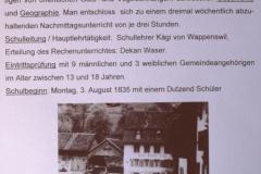 Sekundarschule Bäretswil, Beginn 1835 privat