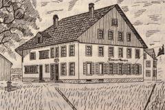 Bahnhofstr, Altes Wirtshaus Zum Bären, Sek.Schule 1862-1878