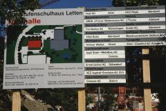 Neubau Turnhalle Letten