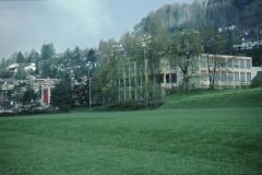 Schulhausanlage Letten mit neuer Turnhalle