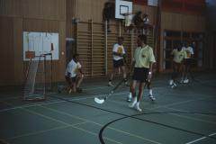 Einweihung Turnhalle Letten, Behörden Unihockey Oberstufe - GdeRat