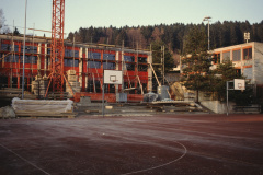 Schulhaus Letten, Turnhallenneubau