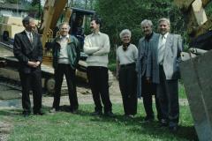 Schulhauserweiterung Letten, H. Mäusli, Lüscher, HP Eckhardt, Esther Brütsch, B. Gerosa, J. Hirzel