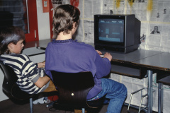 Hausfest Letten, Silvester 1990, Computerspiele 3. Real, J. Albrecht