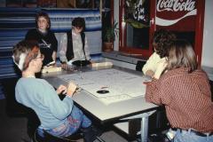 Hausfest Letten, Silvester 1990, Spielsalon, 2. Real B. Morf