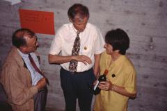Letzte Ha-Ausstellung im Letten, Armin Sierszyn, Heinz Mäusli, Erika Bohli
