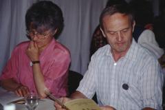Letzte Ha-Ausstellung im Letten, Margrit & Walter Schmied