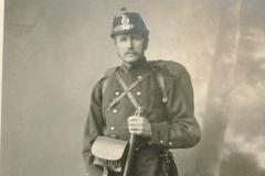 Albert Egli-Küng (Sekelmeister's) Kleinbäretswil, Landsturm-Bataillon 56 (1. Weltkrieg)
