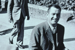 Spenglermeister Walter Kirsch, Schulhauseinweihung