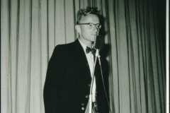 Albert Egli als Conférencier am Verbandsturnfest