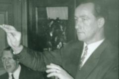 Männerchor Bäretswil, Dirigent Otto Schaufelberger, GV Ende 50er J.