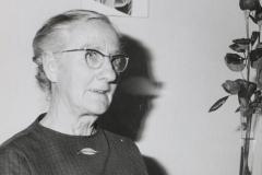 Amalie Schaufelberger-Tress (1897 - 1996), Mutter von Musikdirektor Otto Schaufelberger