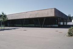 Schulanlage Dorf neue Mehrzweckhalle