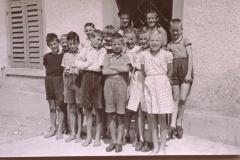 Primarschule Bettswil, 4.-6 Klasse im Sommer 1953 (erster Mittelstufen-Klassenzug von Jörg Albrecht)