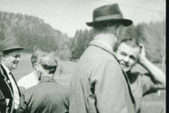 Walter Minnig, Emil Bohli, Fritz Jung sen., Viehprämierung
