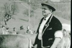 Walter Minnig (im Berner «Chüermutz»), Viehprämierung