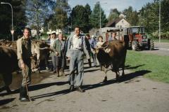 Viehprämierung, Köbi Brunner, Res Amacher