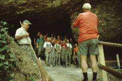 Täuferhöhle, Paul Schoch, Hans Koller + Zivilschutz