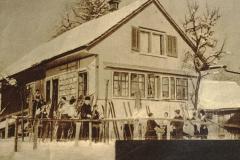 Die Skihütte ,Allmann' in Tysenwaldsberg