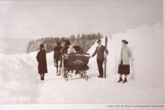 Der Weg ins Schneeparadies
