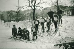 Schüler Skifahren in Wappenswil, imHG Haus Dubach
