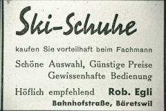 Inserat Skischuhe Rob. Egli