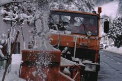 Winter, Schneeräumung