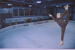 Eishalle mit Denise Biellmann, Fotomontage