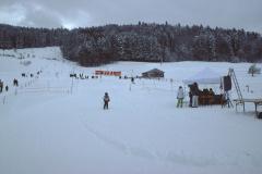 Steig mit Skilift