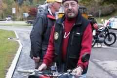 Treffen der Bäretswiler Oldtimer-Freunde, Andreas Strimer mit Moto Guzzi