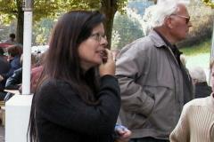 Treffen der Bäretswiler Oldtimer-Freunde. Gabi Bischof-Schüpbach