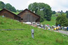 Rapid-Treffen 2004 auf dem Berg, Besammlung und Festwirtschaft im Sädel