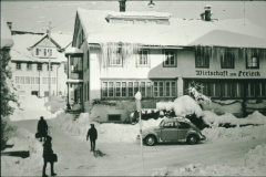 Restaurant Freieck, Adetswil, im Winter