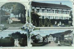 Postkarte Frohberg + Rosinli
